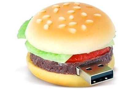 Homgomco Memoria USB Memory Stick Modell Size 4g (Hamburguesa)