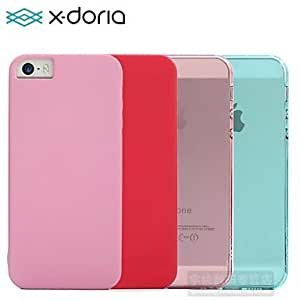 TOPQQ X-doria Apple New Tturnkey Ultra-Thin Protection Shell Crystal Case iPhone 5s , Pink