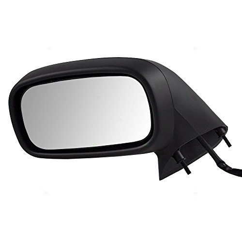 Drivers Power Side View Mirror Replacement for Pontiac 25615195 ()