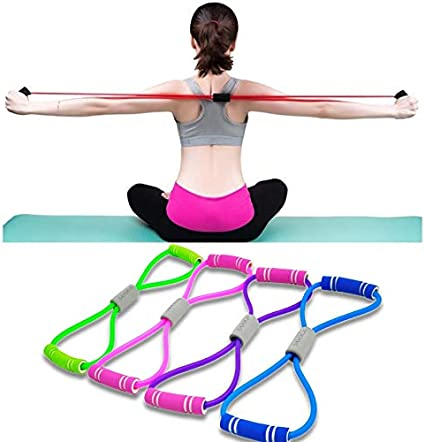 Fitness Elastic Bands Yoga Resistance Band Pull Rope Gym Workout Rubber Expander