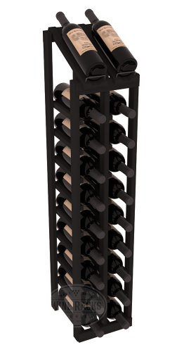 Wine Racks America Redwood 2 Column 10 Row Display Top Kit. 13 Stains to Choose From!