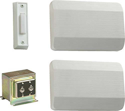 Quorum 102-1-6 Door Chime, White