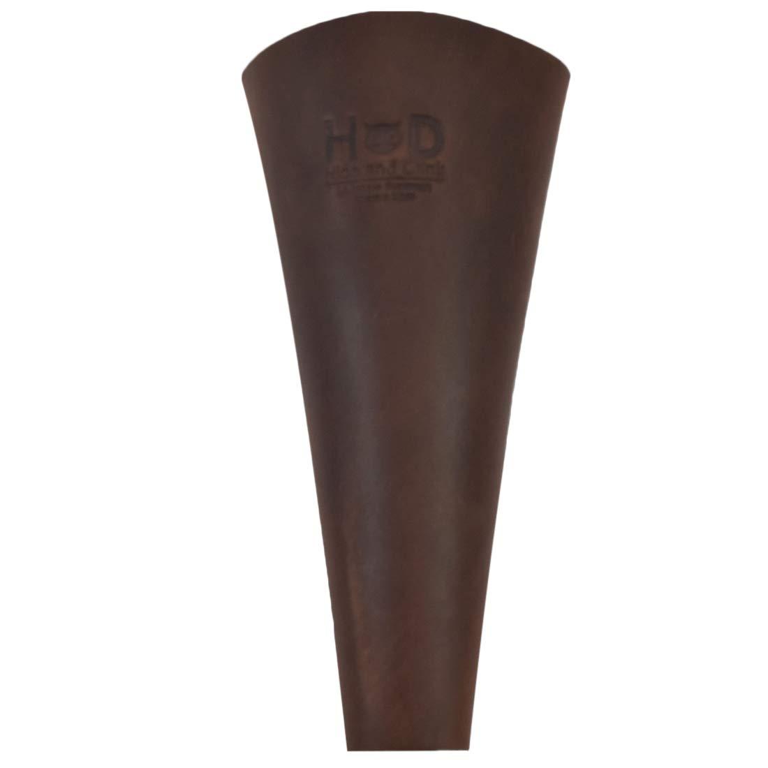 Hide & Drink, Thick Leather Scabbard Belt Loop Holster/Blade & Pruner Sheath Handmade Includes 101 Year Warranty :: Bourbon Brown