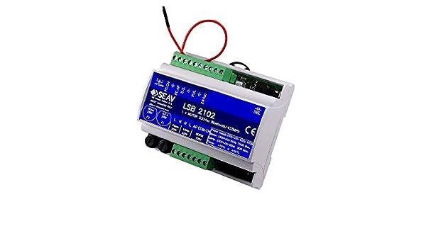 SEAV LSB 2102 433 MHz - Central electrónica para Puertas correderas y Puertas de Garaje: Amazon.es: Electrónica