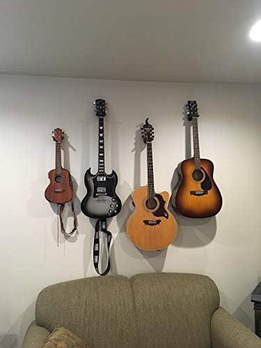Gancho para colgar guitarra, 6 unidades, soporte de pared para ...