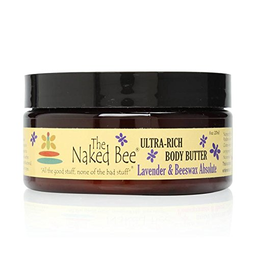 The Naked Bee Lavender & Beeswax Absolute Ultra-Rich Body Butter 8.0 oz