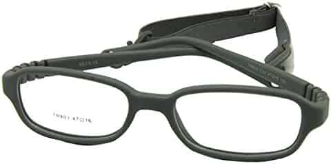 5cb09a252 EnzoDate Kids Optical Glasses Frame Size 47-16-115 with Cord, No Screw