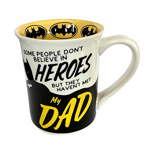 Enesco Our Name is Mud DC Comics Batman Dad Mug