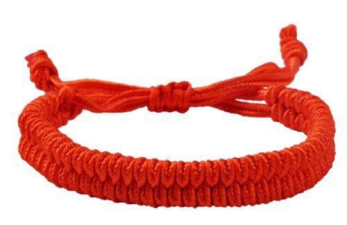 Handmade Red String Bracelet, Good for Wealth and Love, Kabbalah Red String Bracelet