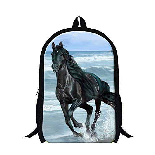 - GIVE ME BAG Generic Children Horse Backpack Magazine Stylish School Bags for Kids