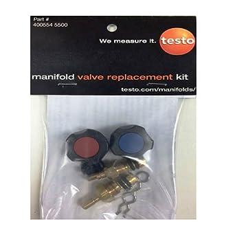 Testo 400554 5500 Digital Manifold Valve Replacement Kit