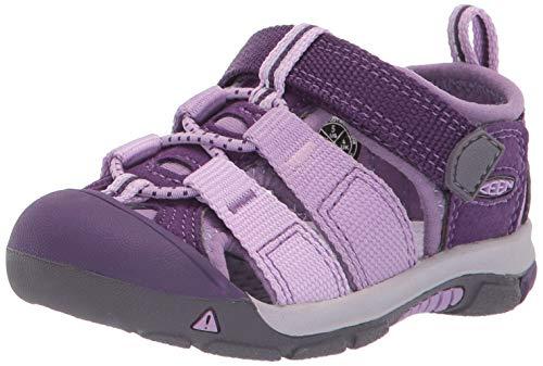 KEEN Unisex Newport H2 Water Shoe, Majesty/Lupine, 3 M US Big Kid