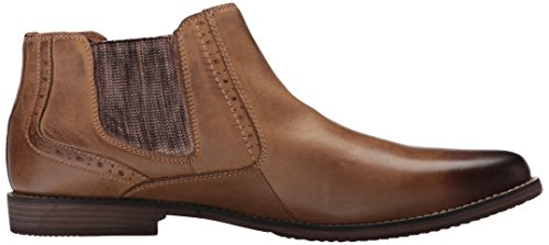 Steve Madden Men's Paxton Chelsea Boot Camel Leather free shipping ebay iEdIckHD