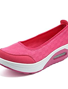 ZQ Zapatos de mujer-Tacón Cuña-Cuñas / Zapatos de Cuna-Mocasines-