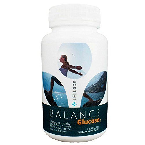 Balance Glucose Blood Sugar Reduction — Your Cardiologist Recommended 100% Natural Blood Sugar Management Supplement Solution; Supports and Healthy Weight Loss — 60 Capsules