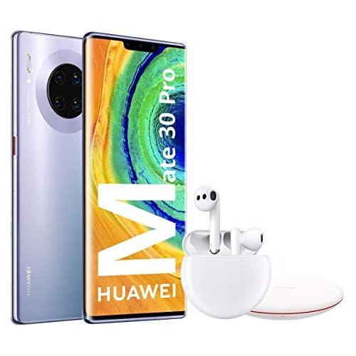 chollos oferta descuentos barato HUAWEI Mate30 Pro Smartphone de 6 53 Kirin 990 8 256 GB 4x cámaras Leica Batería de 4500 mAh Color Space Silver Freebuds 3 Wireless Charger Versión ES PT