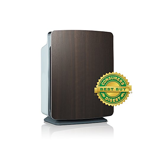 Alen BreatheSmart FIT50 Customizable Air Purifier with HEPA-Pure for Allergies and Dust (Espresso, 1-Pack)