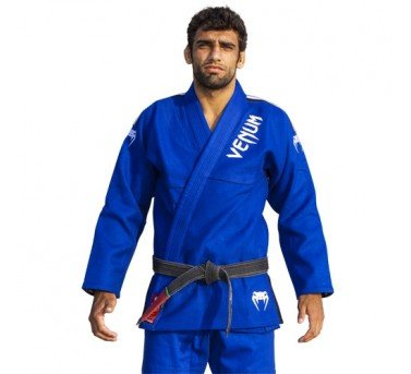 - Venum BJJ GI Absolute Gold Weave Jacket, Blue, A1
