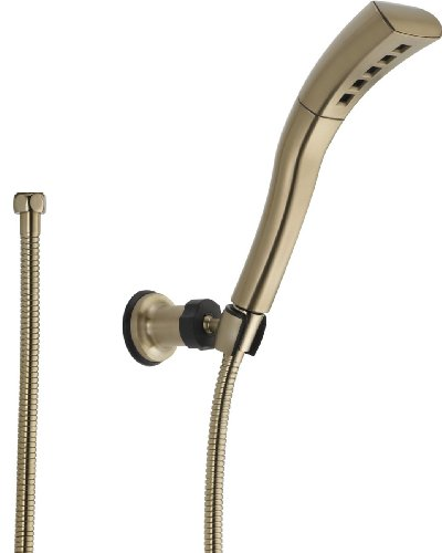 Delta Faucet  55421-CZ Universal Showering Components, Wall-Mount Hand Shower, Champagne Bronze