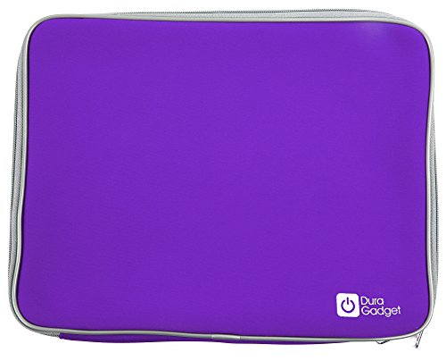 "DURAGADGET Purple 13"" Water & Shock Resistant Neoprene Carry Case for Acer Aspire S 13 Laptop"