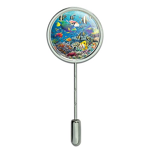 - Graphics and More Ocean Coral Reef Angel Clown Fish Diving Stick Pin Stickpin Hat Brooch