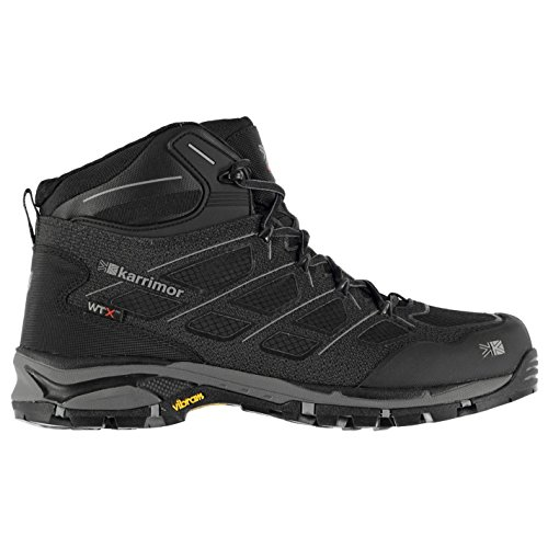 Karrimor Mens Sprint Waterproof Walking Boots Shoes Breathable Lace Up Black l1GLbxv1
