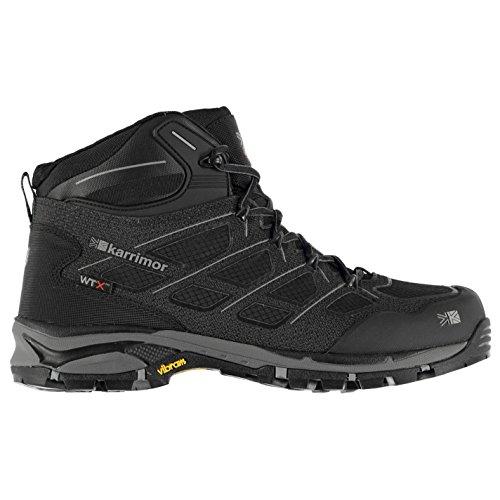 Karrimor Mens Sprint Waterproof Walking Boots Shoes Breathable Lace Up Black vovkBqUCg
