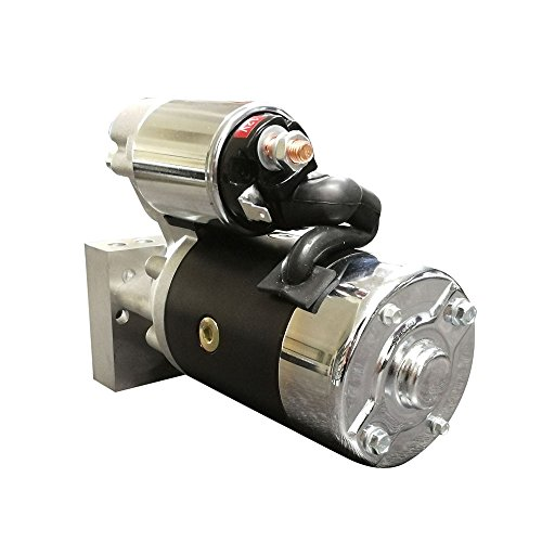 4HP High Torque New Mini Starter for Chevrolet SBC 350 BBC 454 Dual Inline 153 168 Tooth (Gear Reduction Torque)