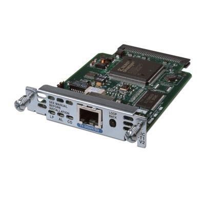 - HWIC 1-Port T1/Fractional T1
