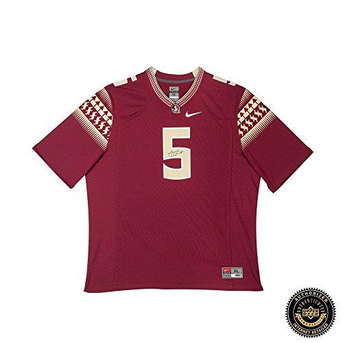 Jameis Winston Autographed/Signed Florida State Seminoles Garnet Nike Replica (State Nike Jersey)