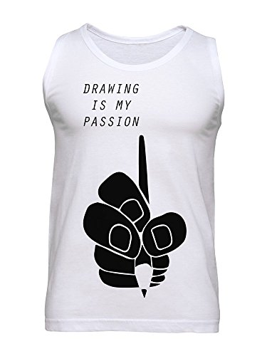 Drawing Is My Passion Men's Tank Top