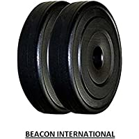 BEACON INTERNATIONAL 10 KG WEIGHT PLATES (5 KG X 2)