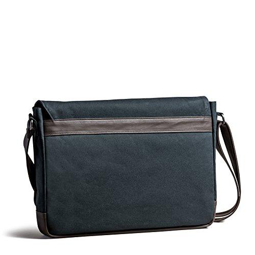 Canvas PU Leather Handmade Messenger Bag/Casual Crossbody Bag