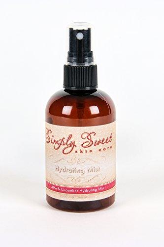 HYDRATING SPRAYChoose your Size Mineral Makeup Setting Mist Vegan Facial Moisturizer Spritz