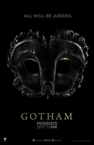 "GOTHAM 11""x17"" Original Promo TV Poster SDCC 2016 FOX Batman"