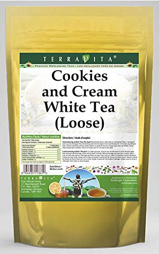 Cookies and Cream White Tea (Loose) (8 oz, ZIN: 545015) - 2 Pack