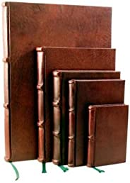 EPICA Leather Journal with Unlined Pages. 6x9in Premium Quality, Handmade in Italy
