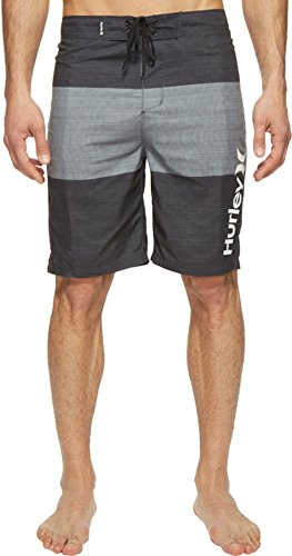 hurley-mens-bahia-boardshorts-21-black-swimsuit-bottoms