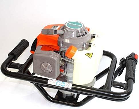 [해외]9TRADING EPA 63cc 오거 포스트 홀 디거 가스 2.5HP 싱글 인사 기계 울타리 포트 홀 / 9TRADING EPA 63cc 오거 포스트 홀 디거 가스 2.5HP 싱글 인사 기계 울타리 포트 홀