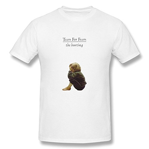 (FEDNS Men's Tears for Fears The Hurting T Shirt )