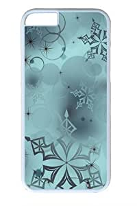 iPhone 6 Cases & Covers -Snowflakes Digital Art PC Hard Plastic Case for iPhone 6 4.7inch Whtie