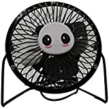 Daily Home USB Panda Four Metal Blades Fan Portable Use in Office/Home