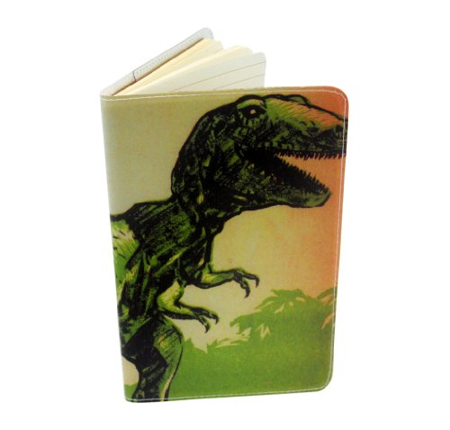 T-Rex Dinosaur Journal (Diary, Notebook) w/ Moleskine Cahier Pocket Cover
