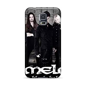 Casesbest88 Samsung Galaxy S5 Bumper Cell-phone Hard covers cases for Happy Christmas andd New Year Allow Personal Design Colorful Kamelot Band Pictures [Vam9211Aodb]