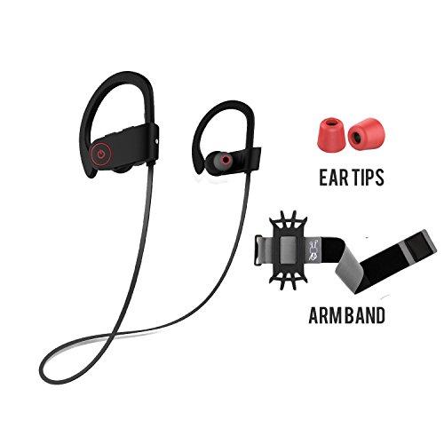 Wireless Headphones,Bluetooth Headphones, Wireless Bluetooth Headphones, with Arm Band & Memory Foam...