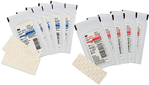 (3M Steri-Strip Reinforced Sterile Skin Closures, 10 Pack Variety Pack (2)