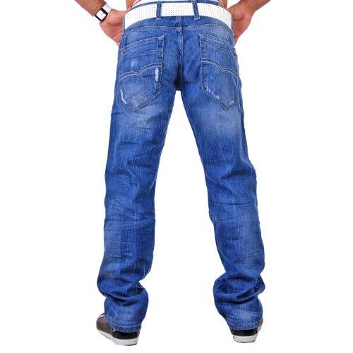 Redbridge Herren Jeans Hose RB-118 Blau