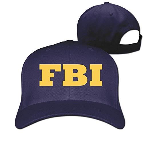 Soncive Unisex FBI Design Plain Baseball Cap Blank Hat Solid Color