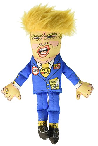 Fuzzu Donald Trump Presidential Parody Cat Toy