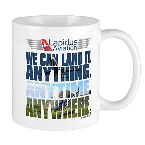 CafePress LOST Lapidus Aviation Mug Unique Coffee Mug, Coffee Cup